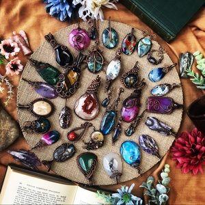 My flip book of some of my handmade jewelry!